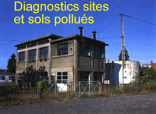 diagnostics, audits de sites et sols pollu�s